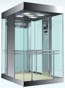 конструкция панорамного лифта